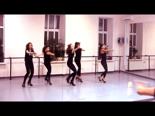 GoGo Olga Shine High Heels Choreo