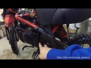 ОБзор и доработка Ирбис ТТР 125