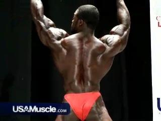 USAMuscle.com - Brandon Curry Poses at the 2008 USAs