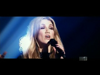 Seal, Joel Madden, Delta Goodrem, and Ricky Martin.Coaches Perform  The Voice Australia 2013 -  Diamonds