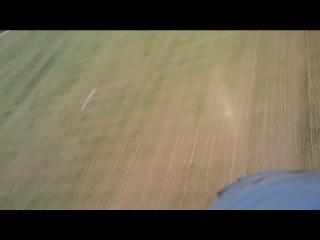 Полет на Hobby King Bixler с камерой