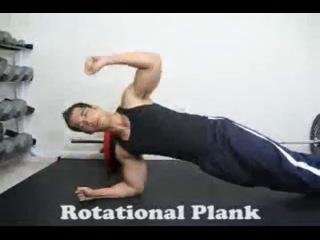 Планка (Plank) - набор упражнений для пресса и спины
