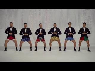 Колокольчики дзынь-дзынь)  реклама трусов (jingle bells)