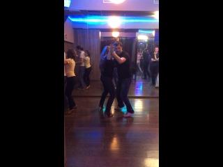 Школа танцев MAXXI SALSA, урок бачаты, 2014 г.