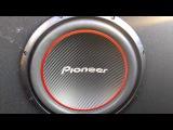 Сабвуфер Pioneer TS-W304R Black