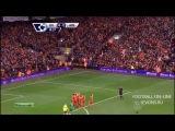08.02.2014. АПЛ. 25 тур. Ливерпуль - Арсенал 5:1