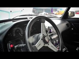 Ваз 2104 с двигателем Nissan Silvia