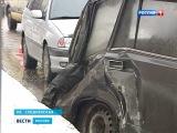 ДТП с участием пожарного автомобиля в Москве (3.02.13.)