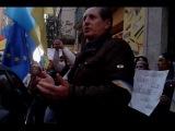 Зверненя людей до консола міста Малаги коло Укр. Консольства