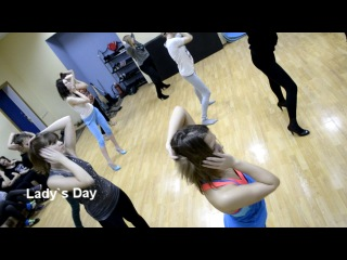 Lady's Day| B-ZONE Dance Center| High Heels (go-go)|JAZZ Fank|Strip-plactic|Salsa Solo| Александров|Танцы для девушек