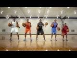 Музыка с помощью баскетбольных мячей