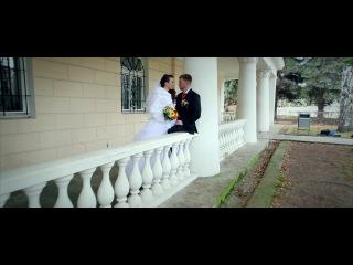 оранжевая свадьба Кирилла и Евгении