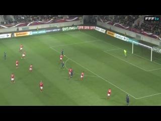 Франция - Болгария 14:0. Чемпионат мира 2015 отборочный матчи (28 ноября 2013)