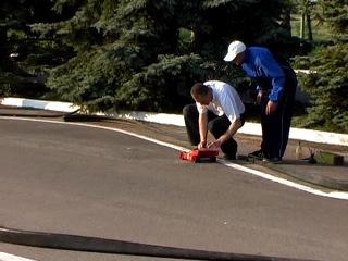 Шоссейно-кольцевые гонки автомоделей. Всеукраинские соревнования по автомодельному спорту (радиоуправляемые модели), 2006 год.