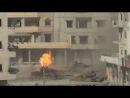 Попадание в танк Т-72 из РПГ-29 Вампир Сирия, 2013 год.