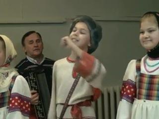 На одной сцене вместе с профессионалами — детский фольклорный ансамбль «Чеботушка» принял участие в сольном концерте хора имени