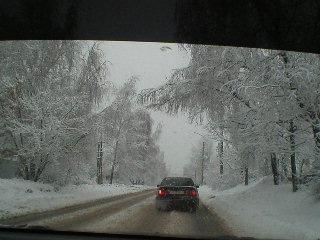 Сегодня в Иваново пришла зима! Утро 2 декабря 2012 г.