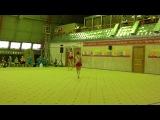 Всероссийские соревнования по спортивной акробатике г.Киров. Ася и Лиля.Вольтиж.