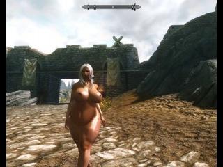 Skyrim belly jiggle test