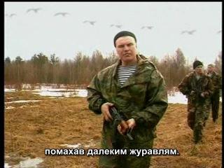 Владимир Воронов - Журавли - военная тематика (субтитры)
