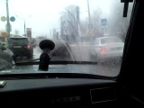 03.04.2013ногинск,глухово,машина угодила в яму