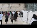 Израиль.Иерусалим.Стена плача. Февраль 2013.