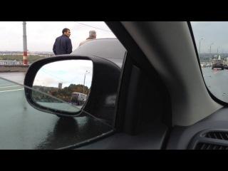 Жесть на Карповском мосту 24.09.2013 16:52