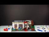Animated LEGO Parisian Restaurant 10243 Expert Creator Flash Speed Build-Vlastitiel