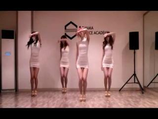 Black Queen корейская танцевальная группа (SISTAR - Alone)