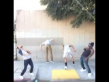[King Bach] Drop that #NaeNae #ButThatBackflipTho w/ [Jerry Purpdrank] [Anwar Jibawi] [Curtis Lepore] [NamPaiKid]