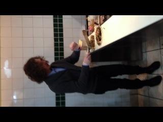 Nick prepares dinner!)) yoohoo)