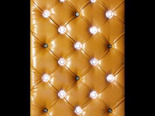 Панель в каретной стяжке с динамичной подсветкой-1