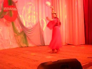 Танец от Инессы на Пятилетии узбекской общины