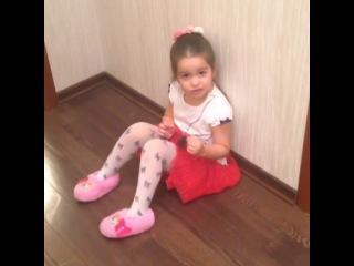 Маруся Бородина не хочет идти в детский сад