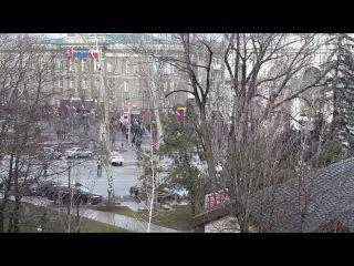 (18+) Сергей Юрьевич Беляков о митинге в Донецке
