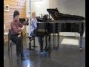 Leonid Larionov (musical saw), Anastasiya Bazhenova (piano) - O mio babbino caro (Puccini)