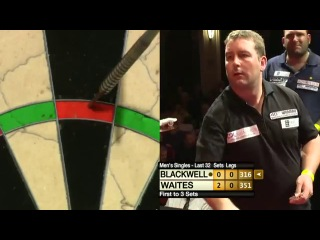 Scott Waites vs Pip Blackwell (Winmau World Masters 2013 / Last 32)
