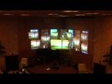 www.ClubService.pro Наши работы. ЦДХ на крымском валу. Процесс монтажа и настройки видеопроекции. #2