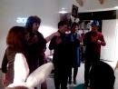 Шуточный оркестр! Новогодний Арт Киноклуб Ирины Кранк 2013