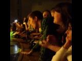 на концерте нервов, парень отжигает :)