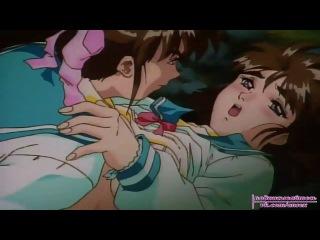 Хентай [vk.com/Ansex]: Ангелы-близнецы / Seisen Twin Angels - 03 [рус. озвучка]