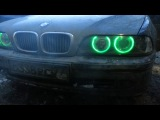 RGB ангельские глазки BMW E39