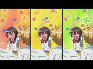 прикол из аниме Президент Студсовета - горничная&#33-Anime Президент Студ