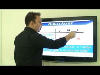 Aula 16 - Curso completo de Raciocínio Lógico para Concursos Público 2013