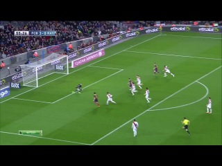 Барселона 6-0  Райо Вальекано   15.02.2014 как же они играют !