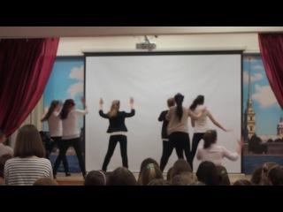 Танец 9 класса на новый год!