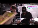 Sam Rockwell & Jeremy Renner greet fans at Seven Psychopaths Premiere in Westwood