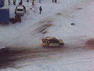 Чумовая гонка на иномарках марки ЗАЗ и К
