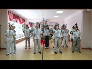Новогодний танец. Школа №2 5