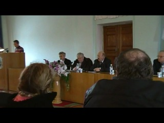 Выступление Строцинского Е.В на конференции Боделана Р.Б.